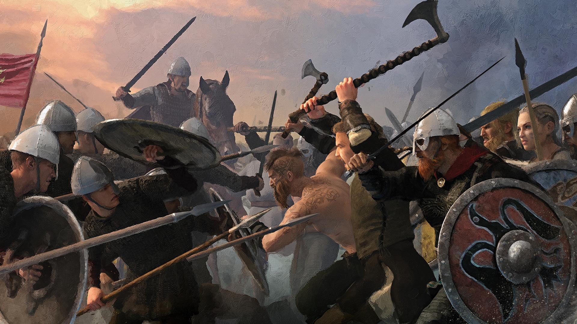 878 Wikingowie Inwazja Na Anglie Zagramw To